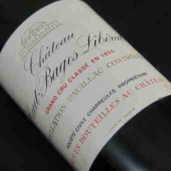 Chateau Haut Bages Liberal 1975