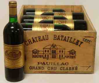 Chateau batailley 1975