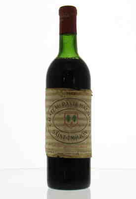 Chateau Pavie-Macquin 1962