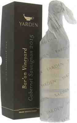 Golan Heights Winery   Yarden Cabernet Sauvignon Bar'on Vineyards 2015