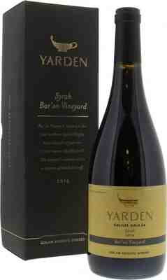 Golan Heights Winery   Yarden Syrah Bar'on Vineyards 2016