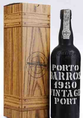Barros , Vintage Port , 1980