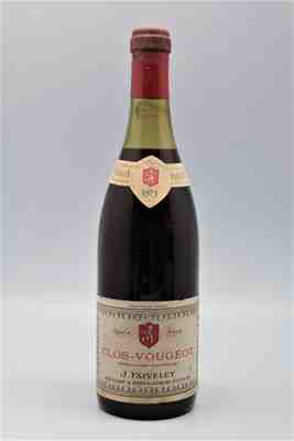 Faiveley , Clos Vougeot Grand Cru , 1973